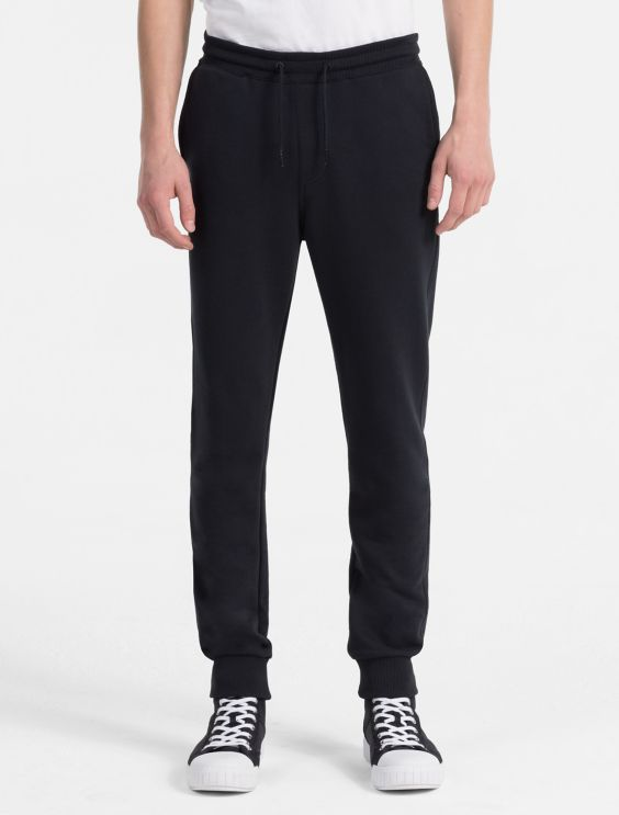Slim French Terry Sweatpants Calvin Klein