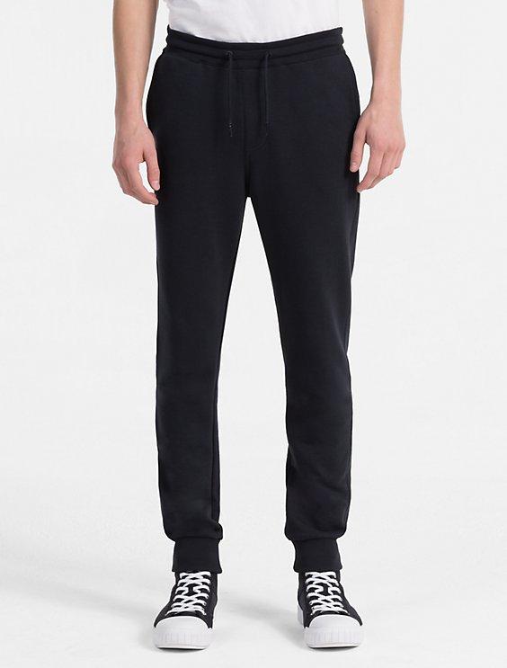 Slim Cotton Terry Sweatpants Calvin Klein Sale Best Wholesale 1zBxoE7