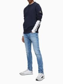 Skinny Fit Light Wash Jeans | Calvin Klein