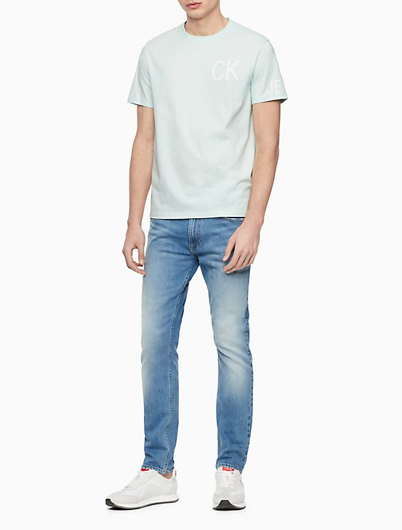f15f5c6d Athletic Taper Fit Light Blue Jeans   Calvin Klein