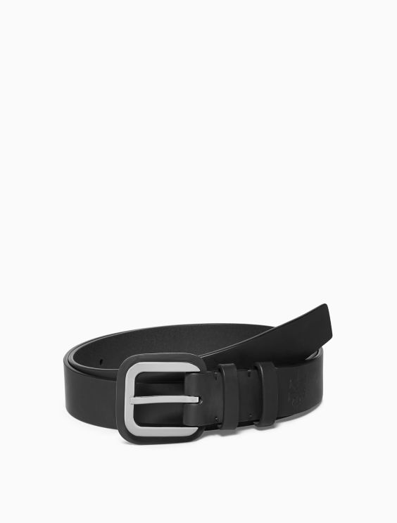 leather-square-buckle-belt by calvin-klein