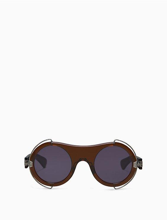 6cb3c3d1ca round metal trim sunglasses