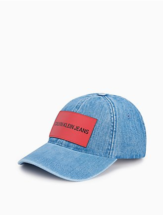 institutional logo patch denim cap d4691c74589f