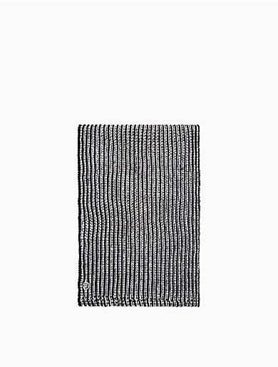 Image of Bicolor Knit Loop Scarf