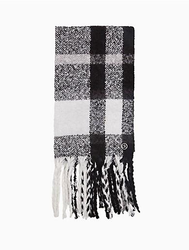 Image of Plaid Blanket Scarf