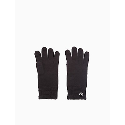 Chain Cable Knit Gloves