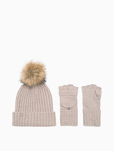 Image of Ribbed Knit 2-Piece Set