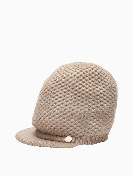 85a31b52 honeycomb knit cabbie hat   Calvin Klein