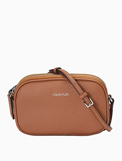 Image of Pebble Dual Compartment Crossbody Bag