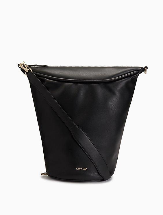 Curved Bucket Bag
