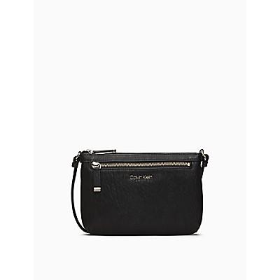 Textured Grain Zip Top Swing Bag