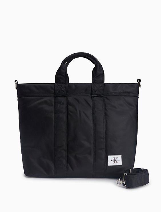 8734d199268 pilot twill monogram logo east west tote bag | Calvin Klein