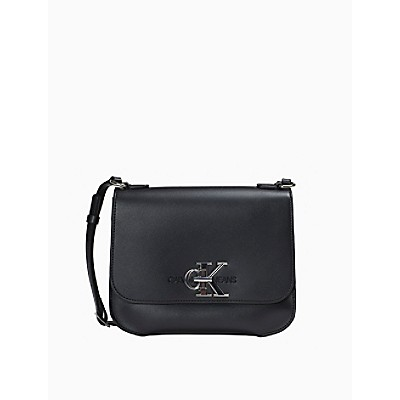 Monogram Logo Flap Crossbody Bag