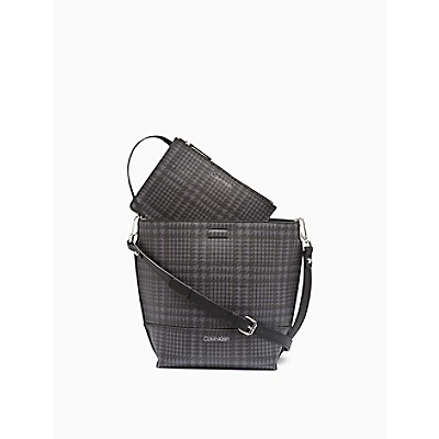 Sonoma Glen Plaid Small Crossbody Bag + Zip Pouch