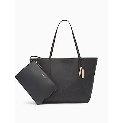 Rachel Pebble Logo Reversible Tote Bag + Zip Pouch