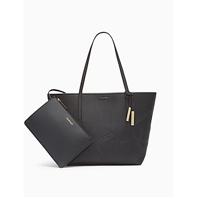 Rachel Pebble Logo Reversible Tote Bag + Zip Pouch   Calvin KleinCalvin KleinCloseCalvin KleinShow Password