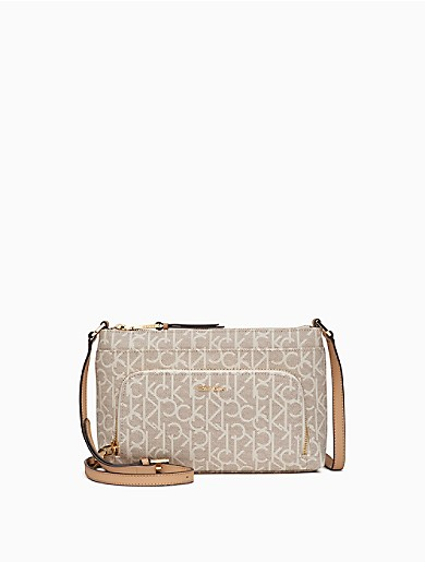 monogram zip crossbody bag  59efaa618794a