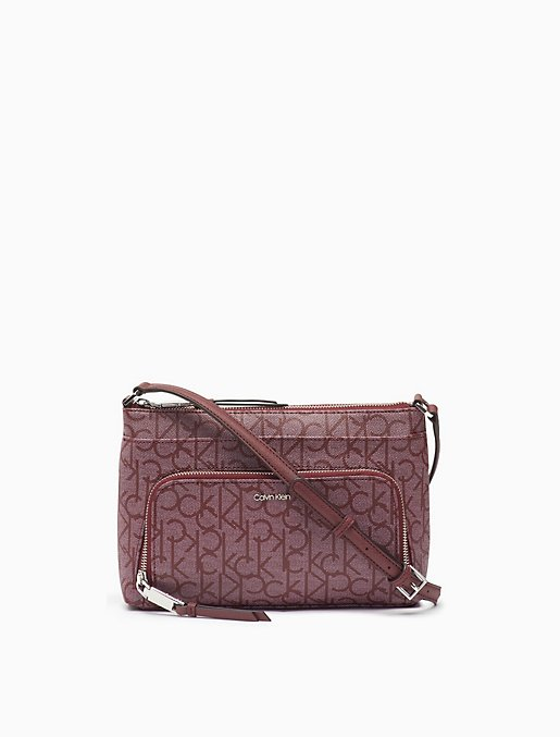 Monogram Zip Crossbody Bag