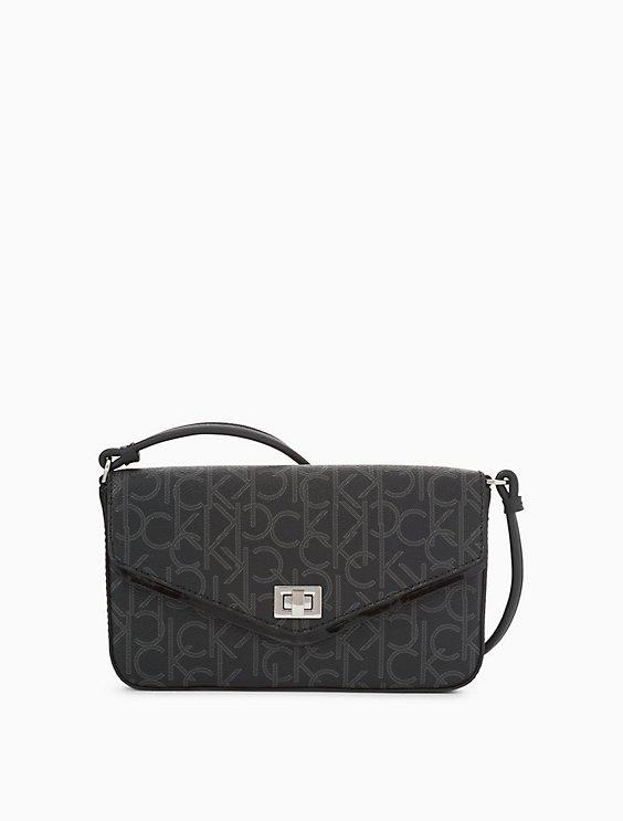 Monogram Flap Crossbody Bag