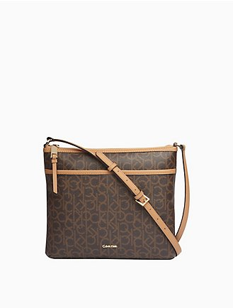 536df3e468ea84 monogram crossbody bag. $138.00. monogram crossbody bag. Final Sale. More  colors available · Ck Monogram Zip Hobo