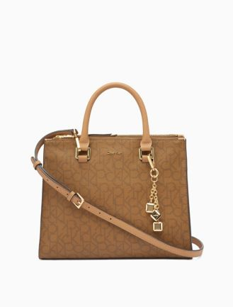 Calvin Klein EFFORTLESS - Shopping Bag - brown