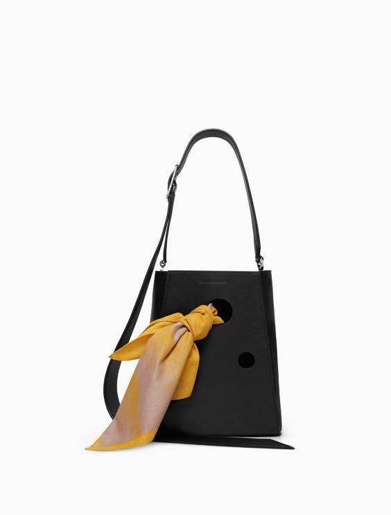 Small Bucket Bag With Bandana Calvin Klein