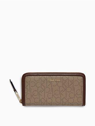 monogram zip continental wallet ea50e31ec9152