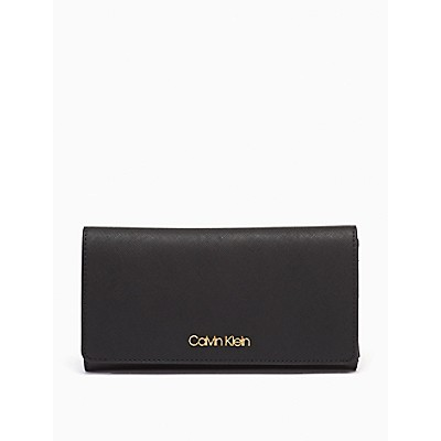Saffiano Leather Trifold Wallet