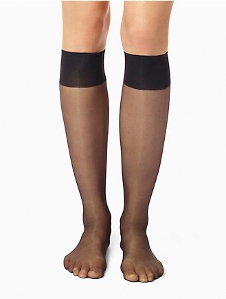 3a4635eb366 3-Pack Sheer Perfect Essentials Sheer Knee High Hosiery