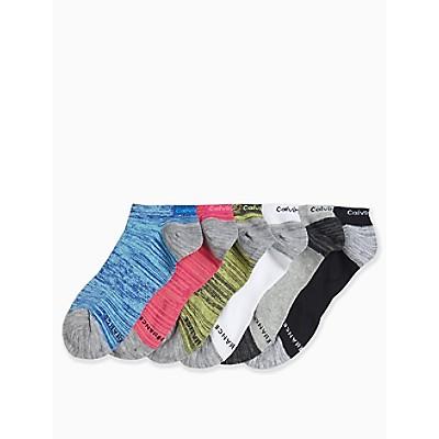 6-Pack Performance Logo Socks