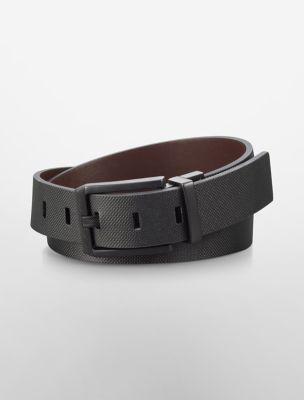 Calvin klein gold buckle belt