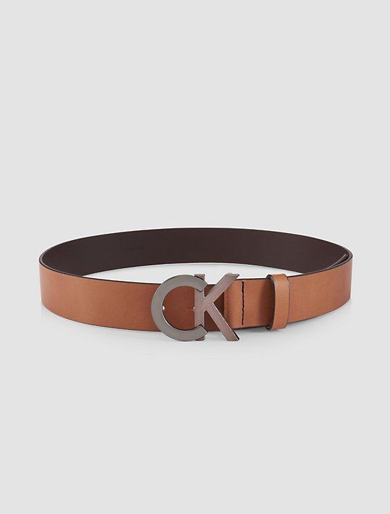 Shoptagr   Ck Logo Plaque Belt by Calvin Klein 12052387b12