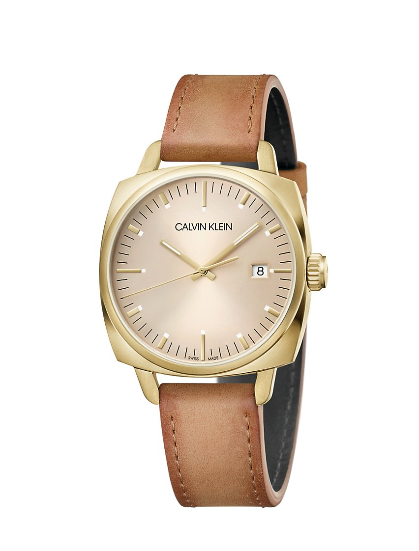 Fraternity Leather Watch by Calvin Klein