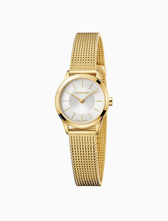1c65e7faec minimal gold mesh watch