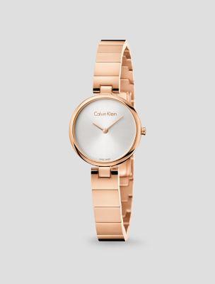 Calvin klein ladies rose gold watch