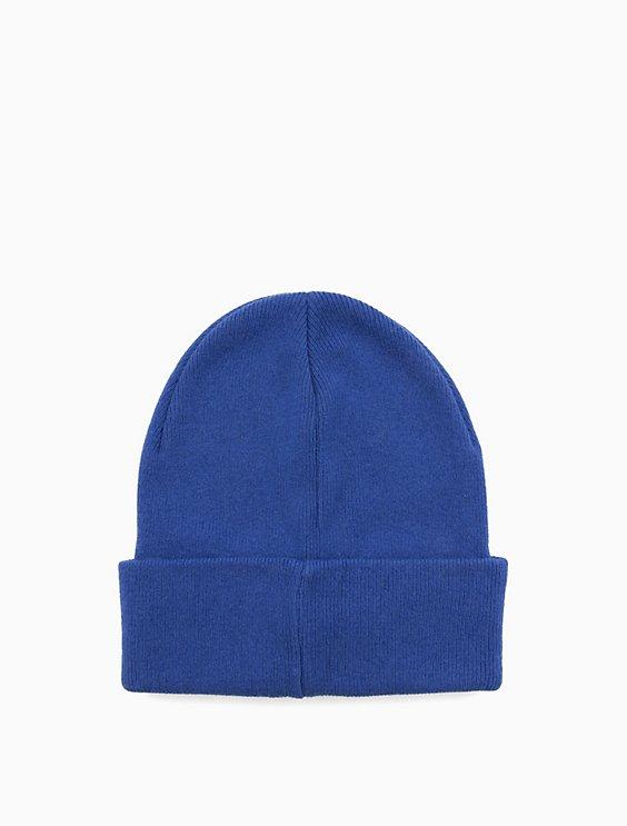 cc363318e762d8 wool blend logo beanie | Calvin Klein
