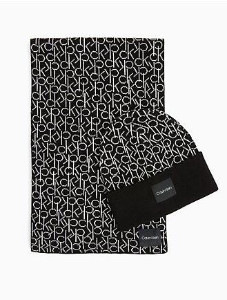monogram scarf + beanie gift box ae566d40edd