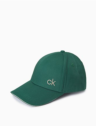 047b8ddfdf3 Ck Logo Cotton Twill Cap