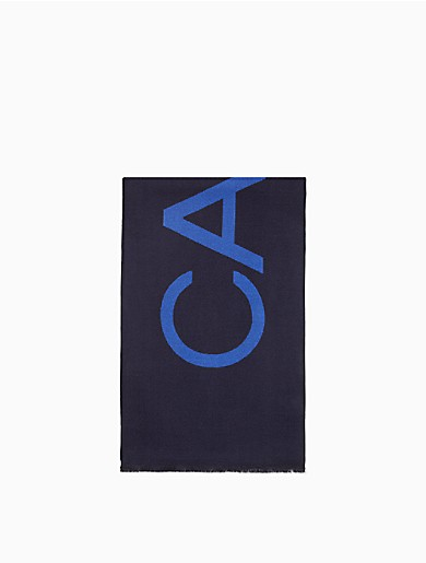 Image of CK Logo Woven Scarf