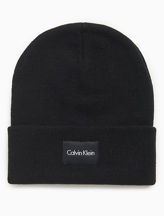 Clearance logo patch beanie hat b1d78eb2e926