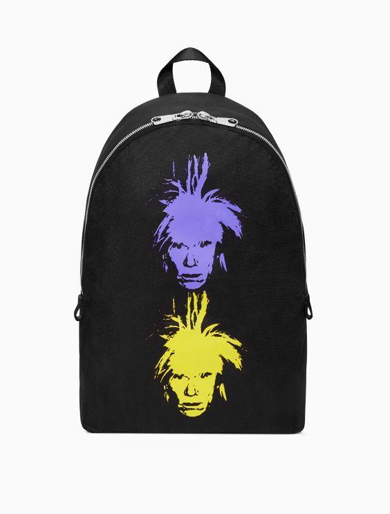 Calvin Klein Warhol Portrait Campus backpack