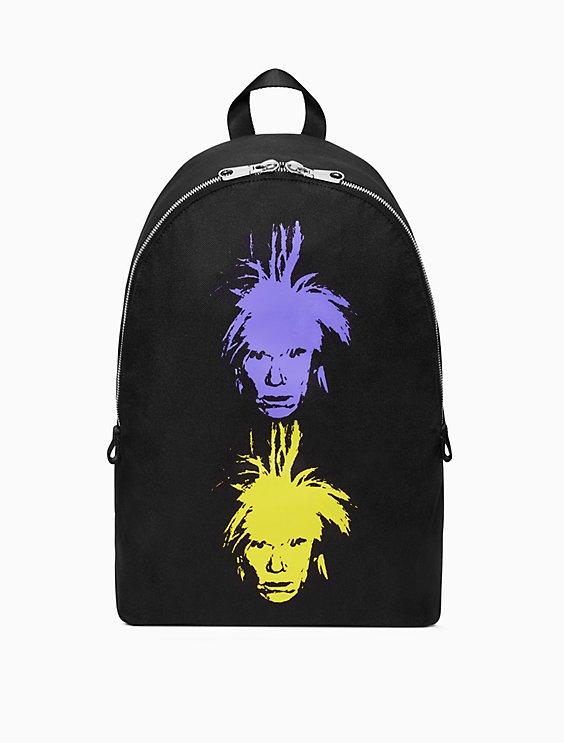 Calvin Klein Warhol Portrait Campus backpack UwiFH