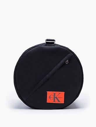 e504cd71a67 monogram logo nylon drum bag