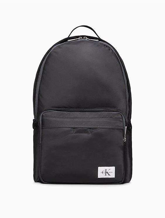 7de2a328e46 pilot twill monogram logo campus backpack | Calvin Klein