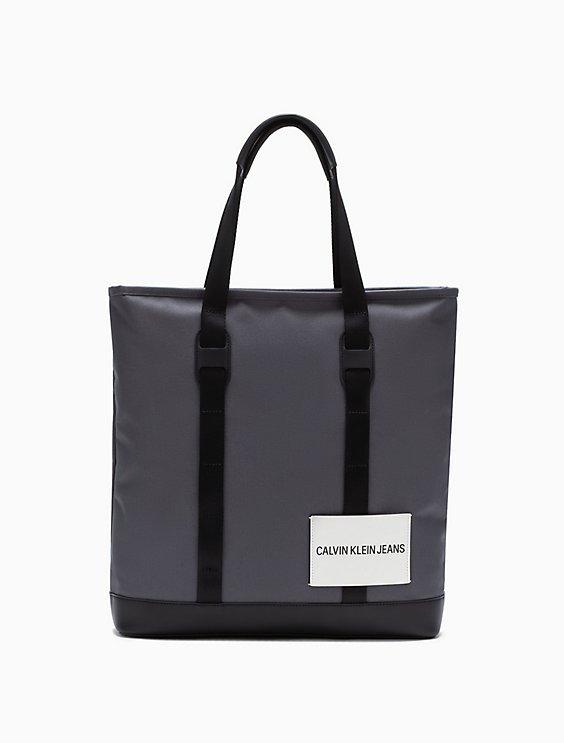 Embossed Logo Magazine Tote Bag