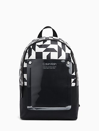 CK Monogram Round Backpack f6323d8a71