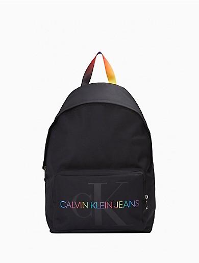 Image of Pride Strap Monogram Logo Campus Backpack