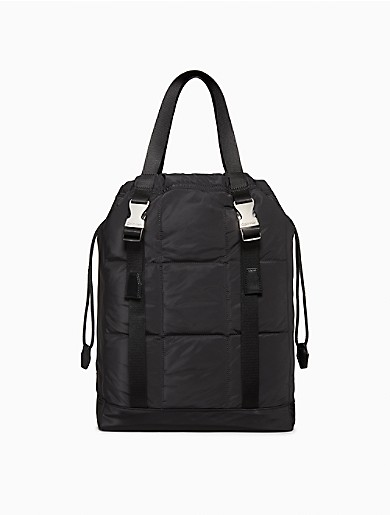 Image of Rectangle Quilted Tote Bag