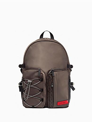Image of Nylon Fashion-Forward Backpack