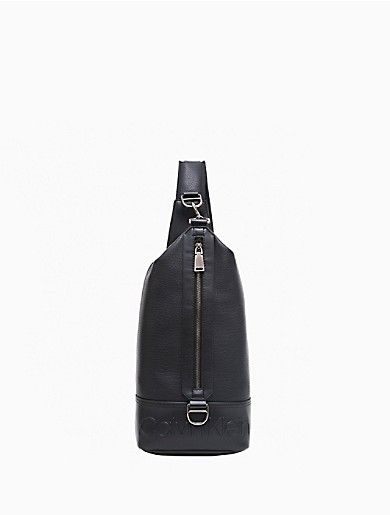 Image of Bartley Pebble Texture Sling Backpack